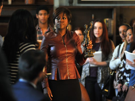 """Viola Davis from the series, """"How To Get Away With Murder."""""""