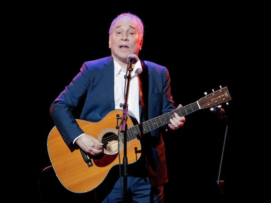 Paul Simon performs Sept. 22 during the Global Citizen