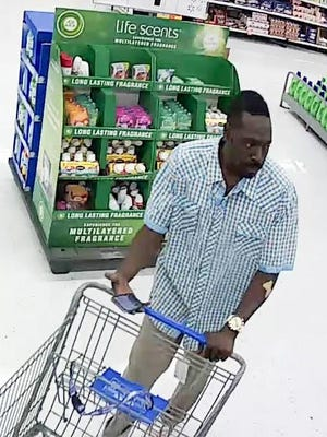 Hendersonville police are searching for this man and two others who stole four TVs from Walmart.