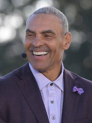Herm Edwards in January 2017.