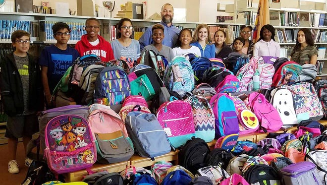 A school supply collection effort launched by Assemblyman Joseph Danielsen (D-Middlesex/Somerset) in July yielded thousands of school supplies.
