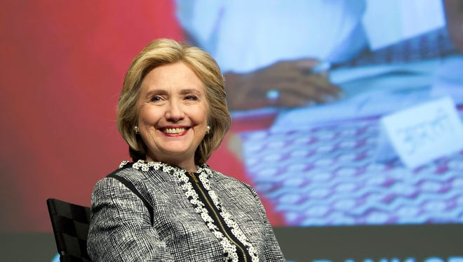 """Hillary Rodham Clinton participates in the World Bank Group's report on """"Voice and Agency: Empowering Women and Girls for Shared Prosperity"""" at the World Bank headquarters in Washington, D.C. on May 14, 2014."""