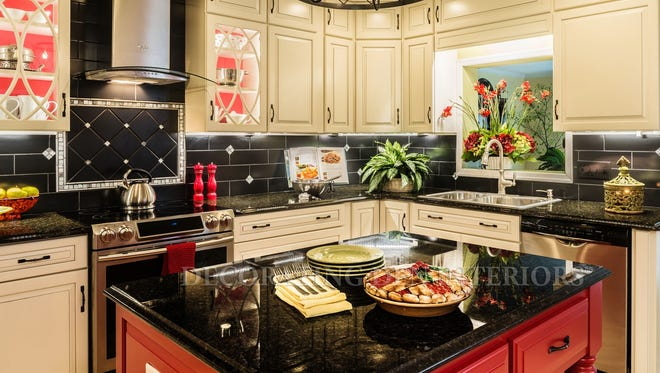 Careful planning takes a traditional kitchen from boring to spectacular.