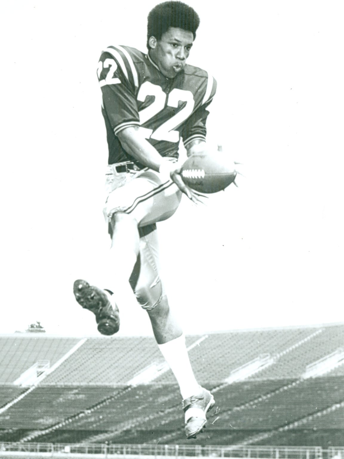 Olympian Larry Burton was also an All-American wide