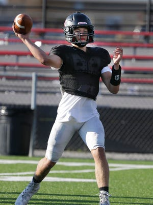 Waukesha South quarterback Grayson Cooley thrown for an area-best 788 yards, and he also ranks seventh in the area with 495 rushing yards.
