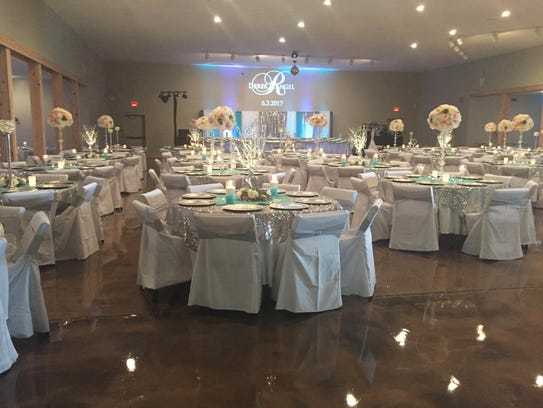Prairie View Event Hall is open for wedding receptions,