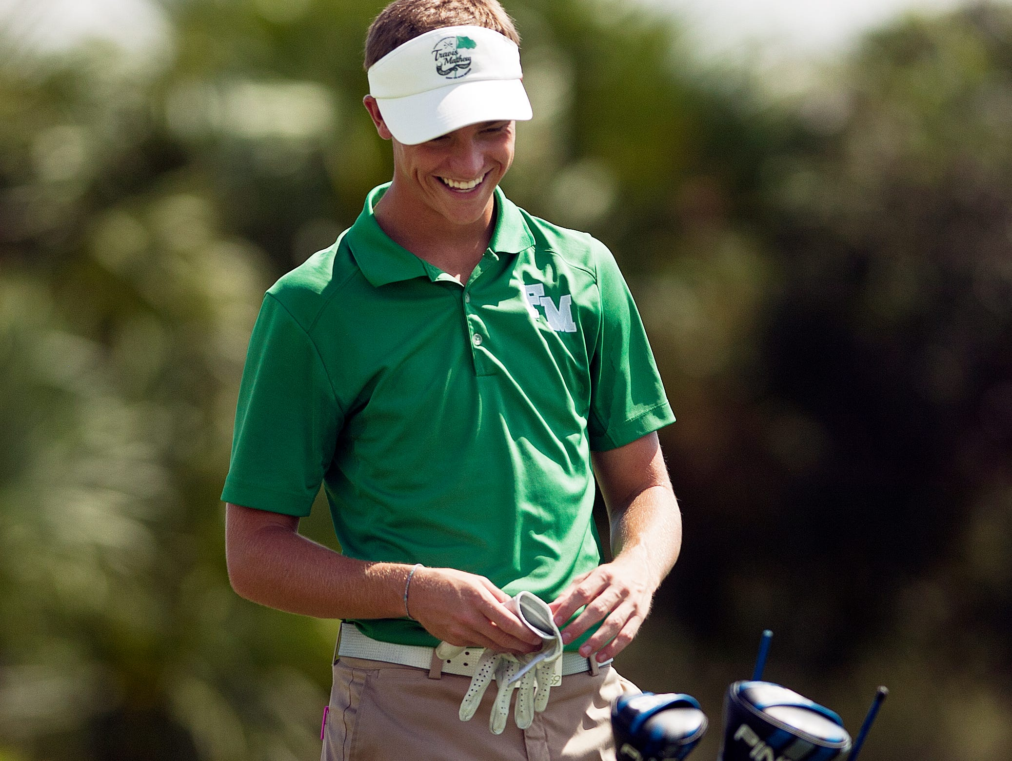 Landon Weber, of Fort Myers High School, started fast and finished with a 3-under 69 to win the District 3A-15 championship Monday (10/12/15) at River Hall Country Club in Alva.