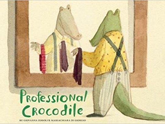 Professional Crocodile. By Giovanna Zoboli, illustrated