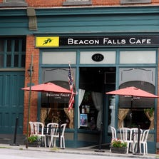 The Beacon Falls Cafe is at 472 Main St. in Beacon.