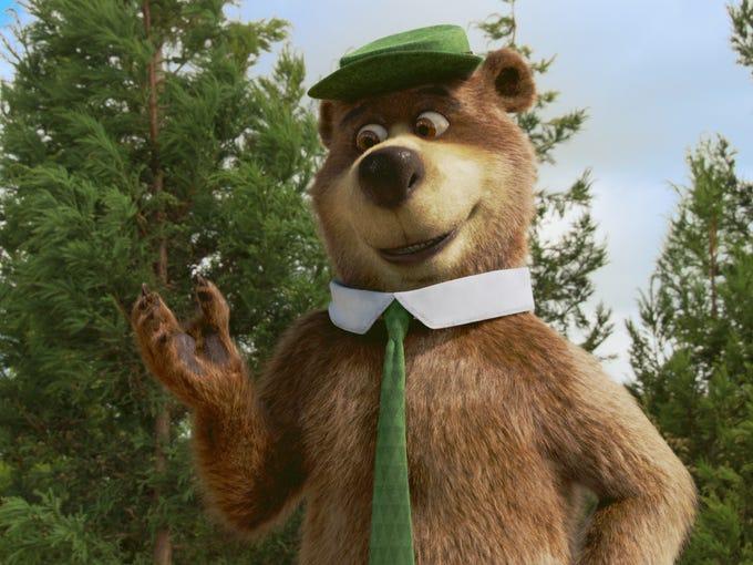 Artist rendering of bipedal bear.
