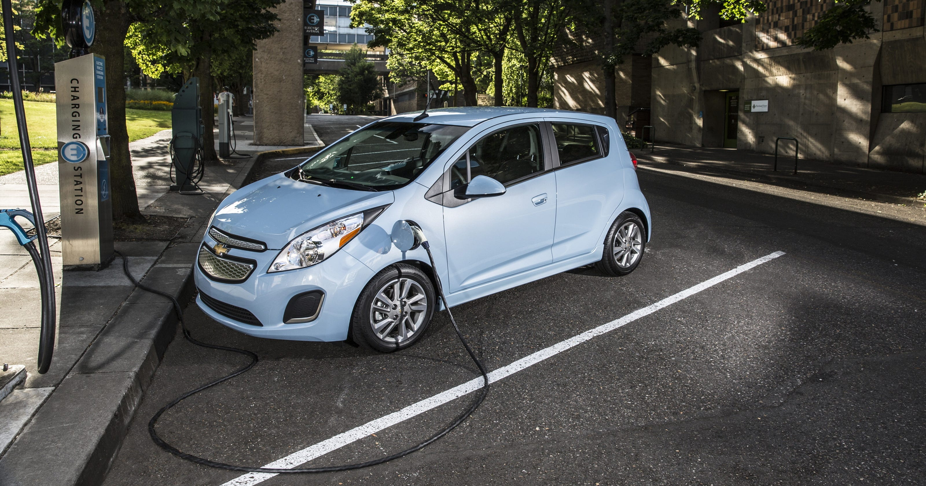 Test Drive: Electric Chevy Spark a powerhouse