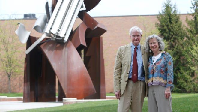 RIT President Bill Destler and his wife, Rebecca Johnson.