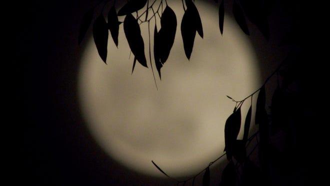 A recent full moon.