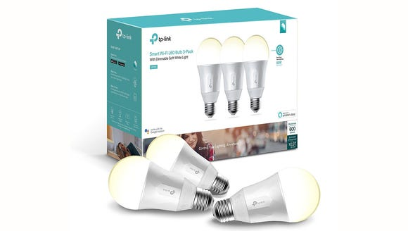 With three bulbs, you can add smart lighting control