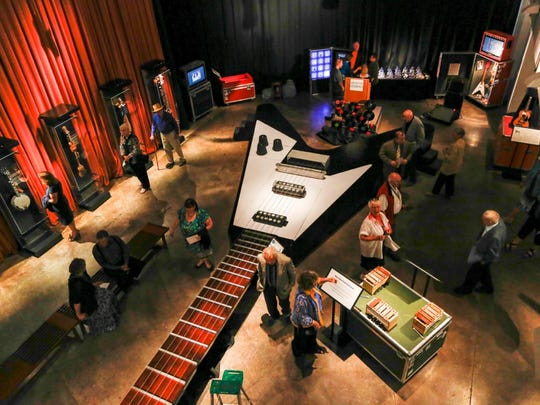 Guitar: The Instrument that Rocked the World opens Friday at Cincinnati Museum Center.