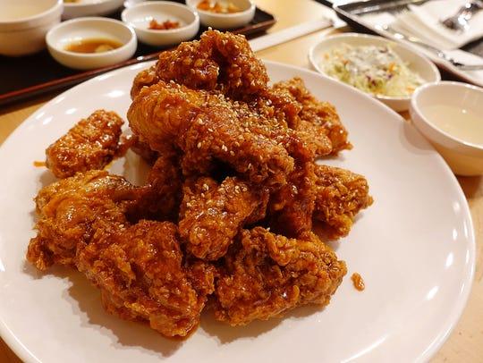 Yang nyum chicken at Po Chicken.