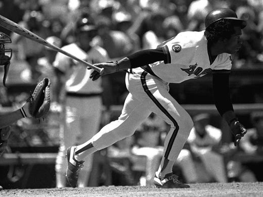 Rod Carew (California Angels) - After 12 seasons and