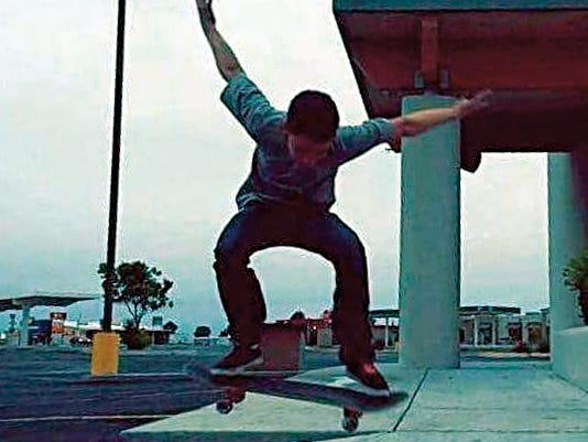 """Submitted Photo   At 4:30 p.m. on Thursday, a """"best trick"""" competition for local skaters will be held at the Deming Skate Park."""