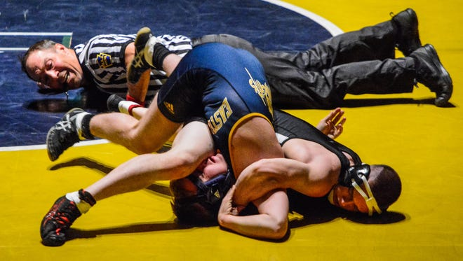 Susqueahnnock's Colby Romjue, shown here in a file photo last season, is 6-0 this season. John A. Pavoncello photo