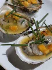 The Plate of Oysters appetizer at Saltaire Oyster Bar and Fish House in Port Chester, Aug. 19, 2015.