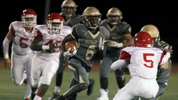 Clarkstown South beat North Rockland 30-10 at Clarkstown