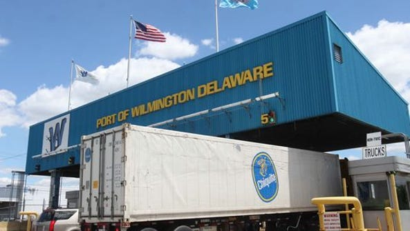 A worker aboard a Chiquita ship was injured at the