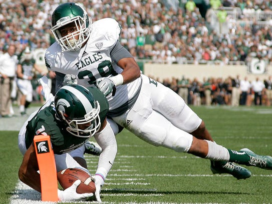 Eastern Michigan's Jason Beck  went to Tech in Indianapolis.
