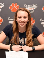Powell High's Lauren Wood signed a letter of intent