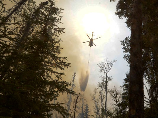 AP Alaska Wildfires