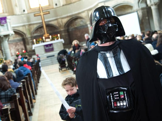 Berlin church boosts attendance with service on a Star Wars theme