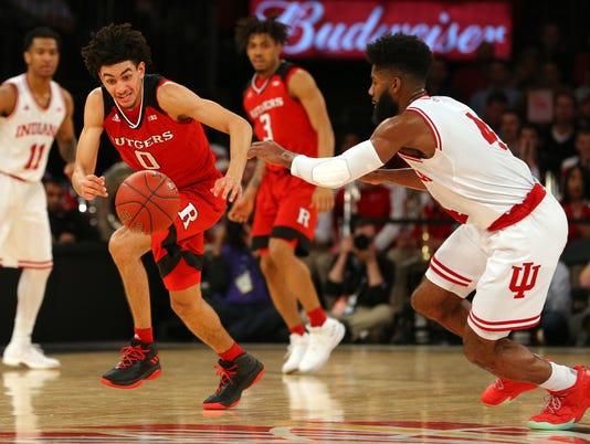 NCAA Basketball: Big Ten Conference Tournament-Indiana vs Rutgers