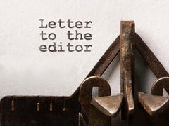 LETTER: New Year's resolutions