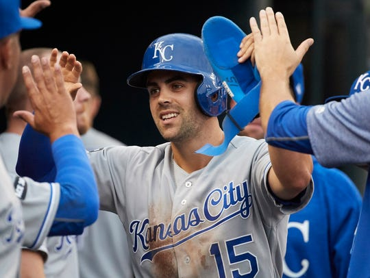 Royals second baseman Whit Merrifield was one of baseball's