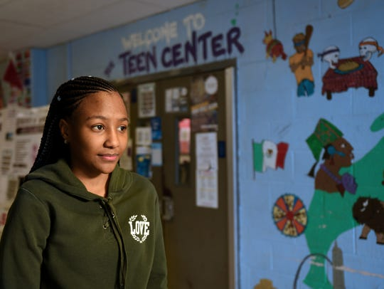 Leekia Gourzong, is active in the Teen Center at JFK