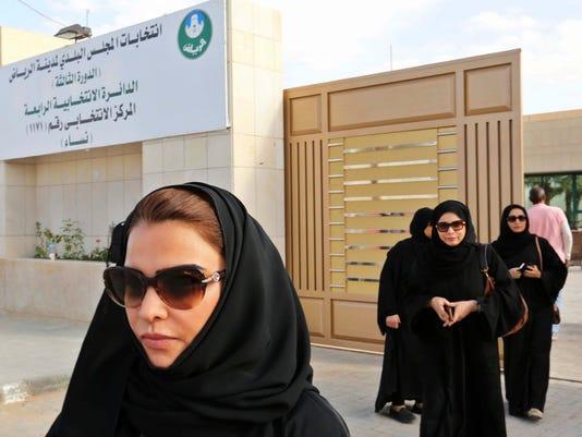 EPA EPASELECT SAUDI ARABIA RIYADH ELECTIONS POL ELECTIONS SAU