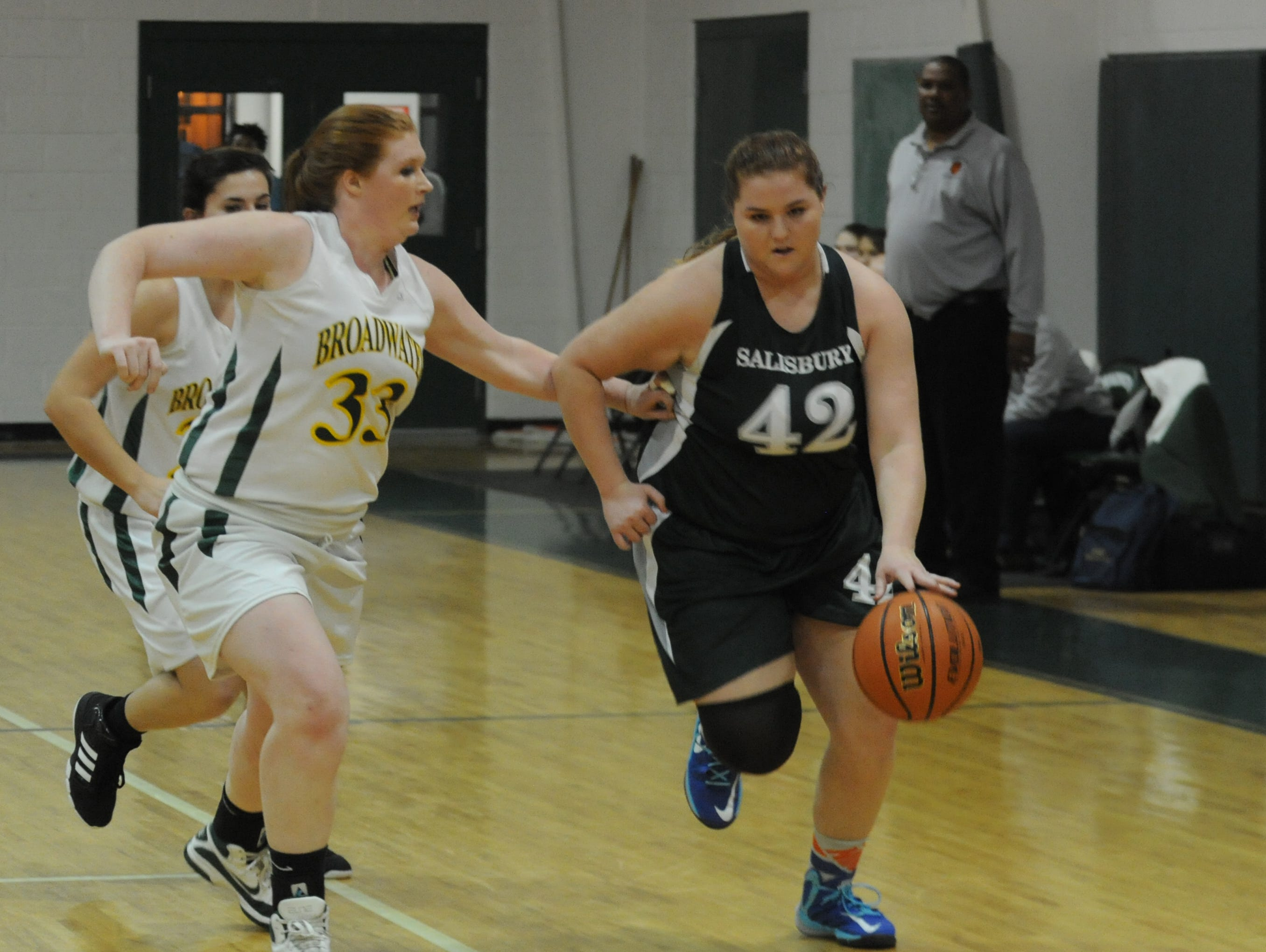 STAT OF THE WEEK: Salisbury School's Morgan McCabe averaged 16 points in two games for the Dragons on Friday and Monday. McCabe led her team to a 36-27 win over Gunston day last Friday.