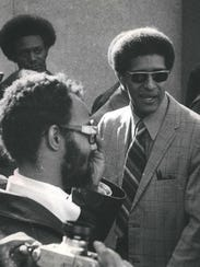 Ken Cockrel, Sr. pictured here (on right) in 1970,