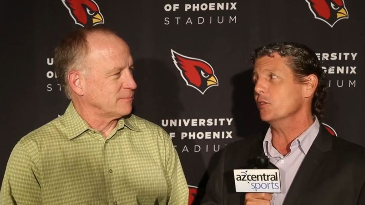 Kent Somers and Dan Bickley check in from the Cardinals training complex in Tempe as the first-round of the NFL draft is underway. Video: Patrick Breen/azcentral sports