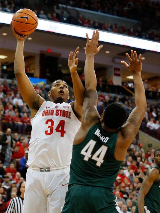 NCAA Basketball: Michigan State at Ohio State