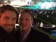 Kellan Lutz and his brother Daniel kick off Super Bowl