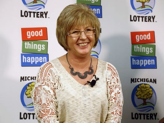 Julie Leach Powerball winner