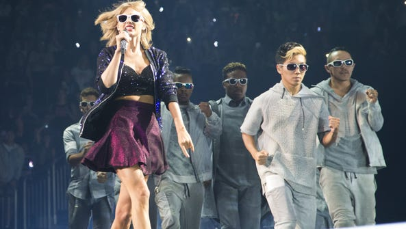Taylor Swift performs at Gila River Arena in Glendale
