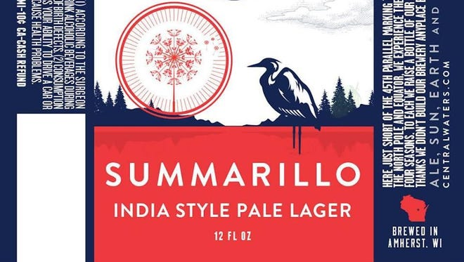 Summarillo is a new summer seasonal beer being offered by Central Waters Brewing Co.