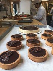 Chocolate tart by Balthazar