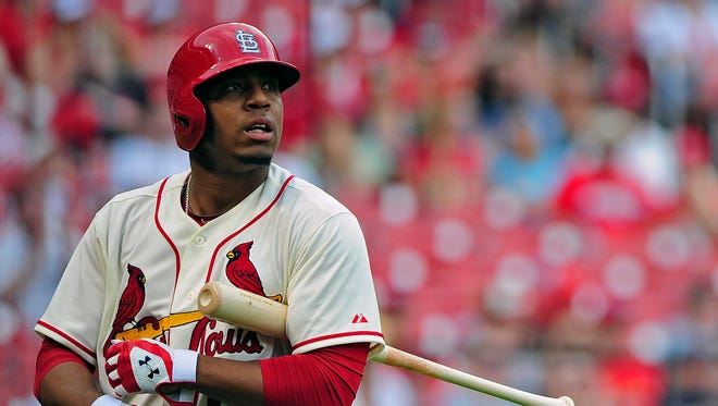 Oscar Taveras batted .239 on 80 games his rookie season.