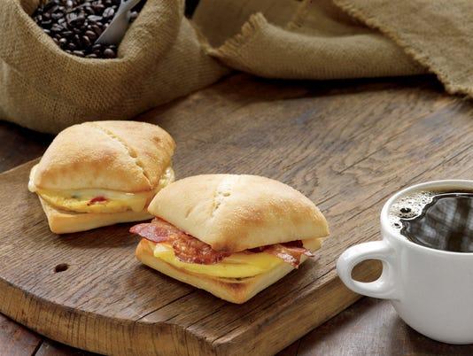 Starbucks breakfast sandwiches