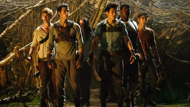 """A scene from the film adaptation of """"The Maze Runner."""""""