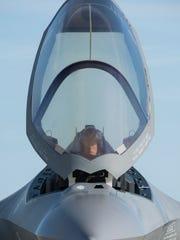 Lt. Col. Brad Bashore, the 58th Fighter Squadron commander,