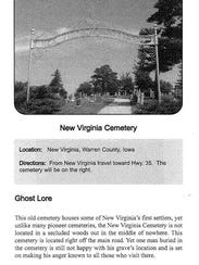 "The New Virginia Cemetery is mentioned in ""The Iowa"