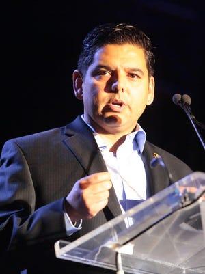 U.S. Rep. Raul Ruiz, a Democrat from Palm Desert, raised $458,624 in the first quarter of 2016.